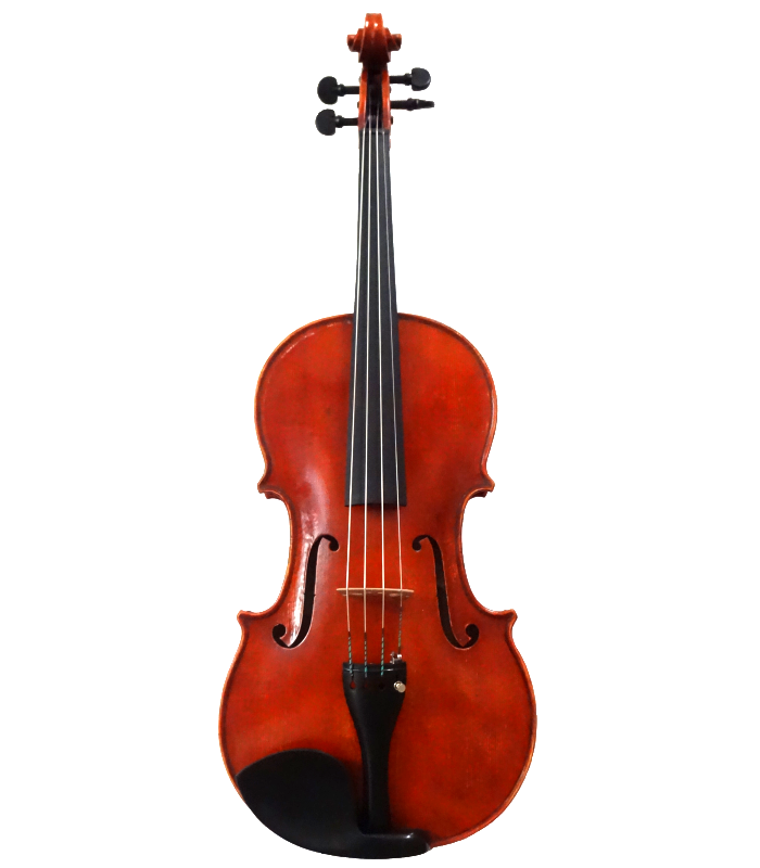 Front view of viola made by Jedidjah - 2015